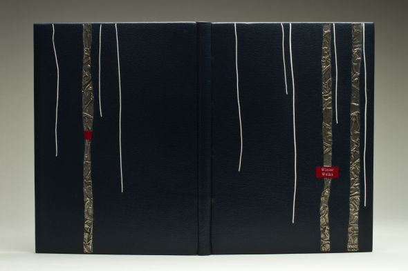 "Winter Walks, Deep Wood Press, 6 5/8 x 10"" Text by Jerry Dennis, illustrated by Glenn Wolff"