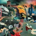 Images taken from R. B. Kitaj If Not, Not, 1975 - 1976 Oil and black chalk on canvas 60 x 60 inches (152.40 x 152.40 cm) Scottish National Gallery of Modern Art