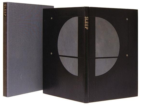 Haruki Murakami, Sleep, Kat Ran Press, 2004. 7.5 x 10 inches.