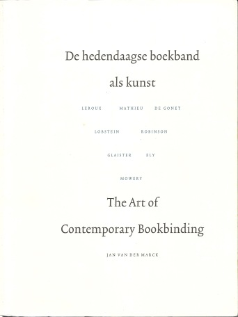 Van der Marck catalog cover