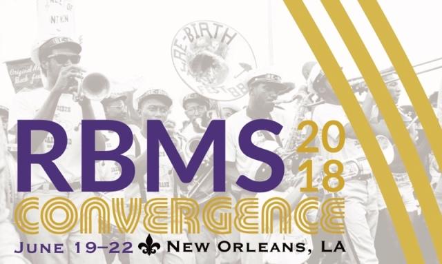 RBMS 18 Showcase Prospectus